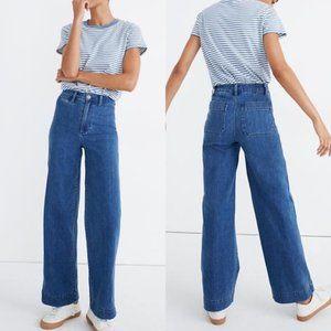 MADEWELL • Slim Emmett Full Length Blue Jeans